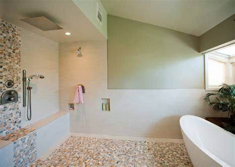 remodeled bathroom showers bath shower combination nexxus remodeling