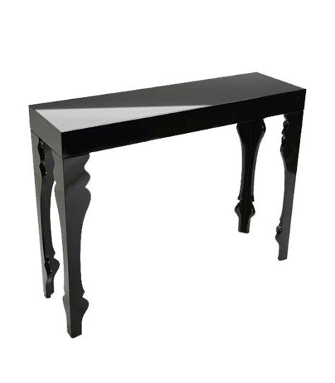 Zen Console Table Design Black Metal Console Table Zen Length 60cm Wadiga