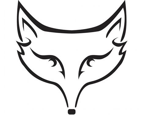 black and white mr fox a pipe design 12 best images about foxes graphics on fox