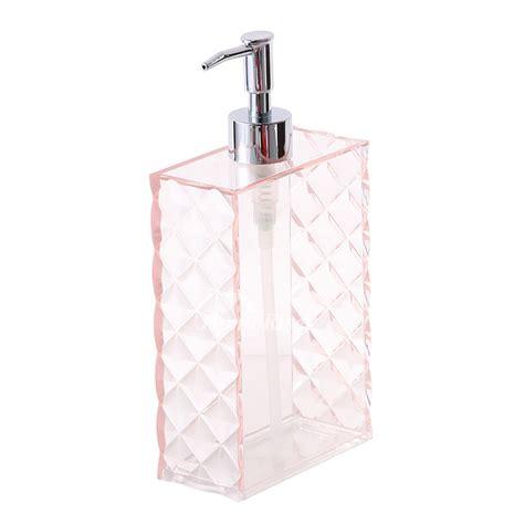 Modern Bathroom Soap Dispenser by Simple Modern Pink Plastic Bathroom Liquid Soap Dispenser