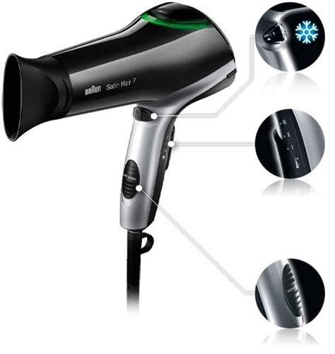 Braun Hair Dryer Hd350 braun satin hair 7 hd730 comprar tienda on line secador de pelo electrodomesta