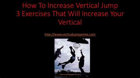 how to increase vertical jump 3 exercises that will