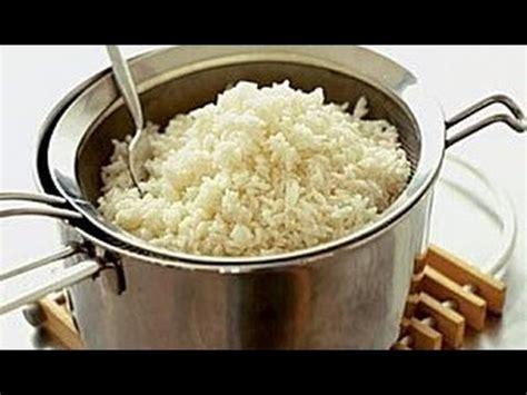 arroz blanco cocinar cocinar arroz blanco facil y sencillo