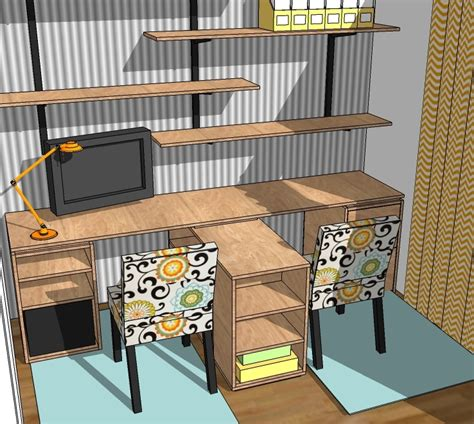 diy office desk plans white eco modular office desktop made with purebond plywood diy projects