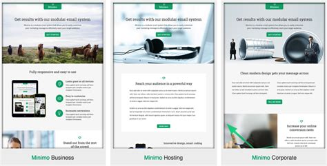 Email Advertising Templates by Customize Your Email Marketing With Fresh Email Templates