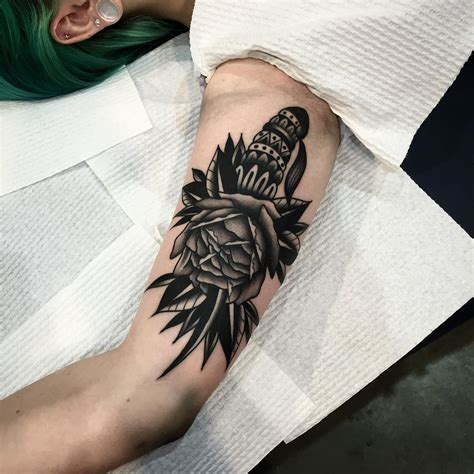 black and grey traditional tattoo radical black and grey american traditional tattoo