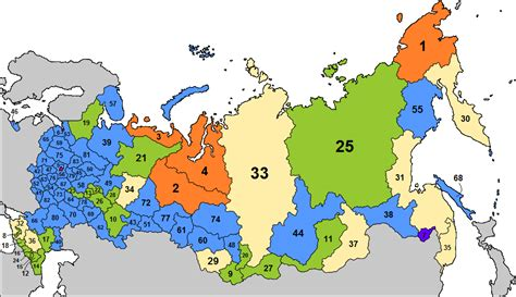 russia major cities map quiz federal subjects of russia quiz by 1447