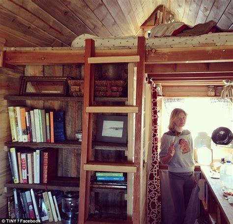 fanciest tiny house colorado couple build dream home at 124 square feet
