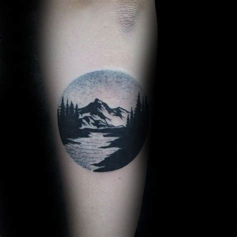 tattoo inspiration nature 90 landscape tattoos for men scenic design ideas