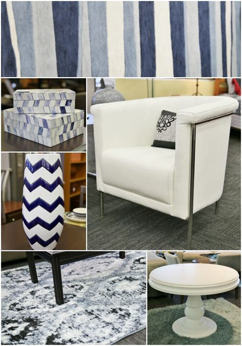 Blue And White Recliner Discovering A New Source For Quality Discount Furniture