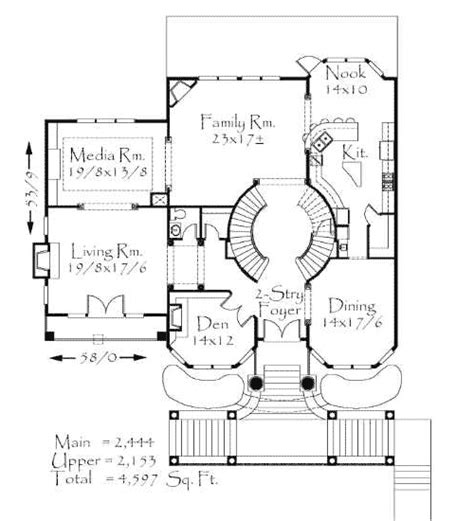 house plans with a view front view lot 8583ms 2nd floor master suite bonus