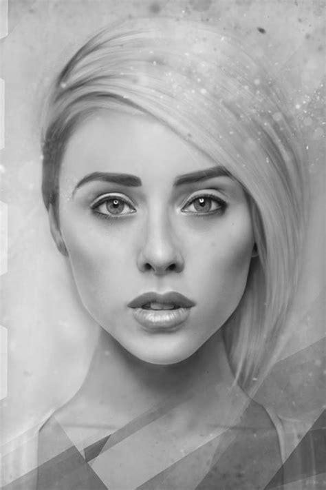 dibujos muy realistas dibujos de mujeres muy realistas hechas en 2d