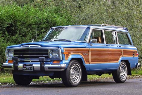 jeep wagoneer blue the jeep wagoneer in light blue metallic spinnaker blue