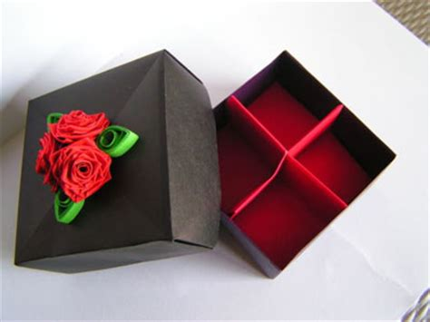 Origami Box Divider - origami box with divider photos