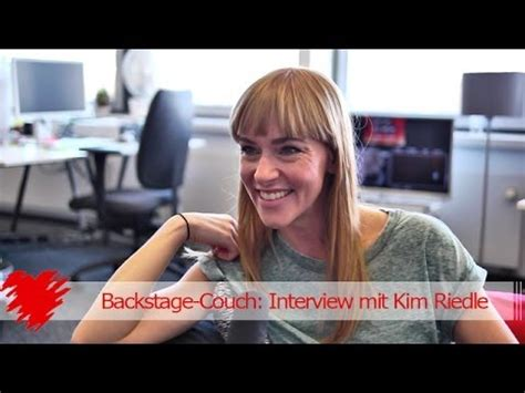backstage couch interviews backstage couch interview mit kim riedle youtube