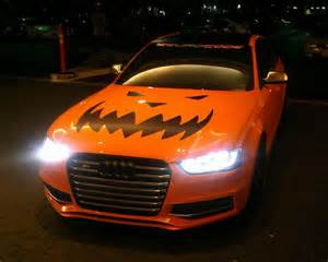 Lamborghini Costume Orange Supercar Duo Goes Trick Or Treating With