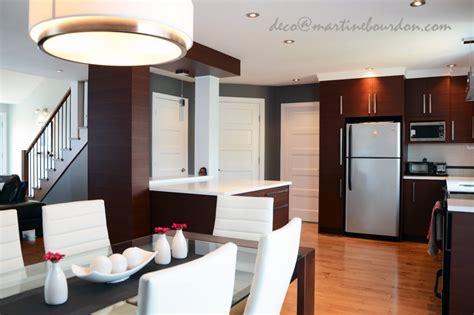 cuisine et salle a manger avant apr 232 s une aire ouverte transform 233 e martine