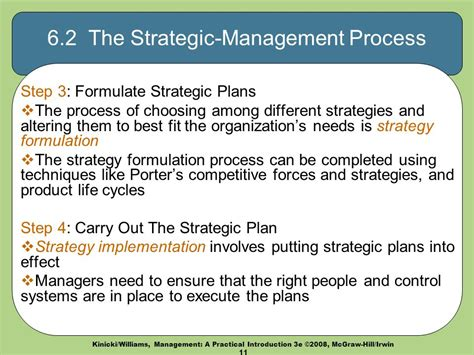 Management Strategic 6 business strategy ch 6 management a practical