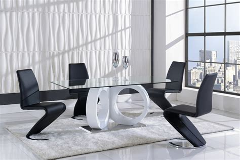 global furniture   piece dining room set  white