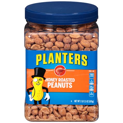 Planters Peanuts Upc 029000073296 Planters Roasted Honey Peanuts 34