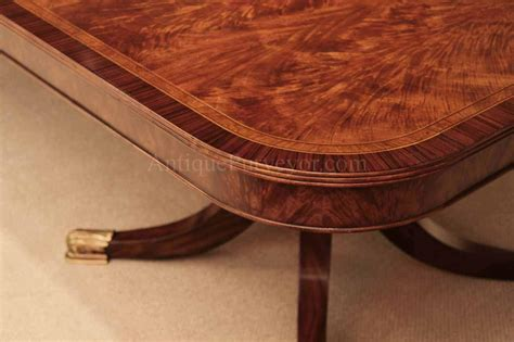 12 foot dining table 12 foot mahogany dining table with self storing leaves