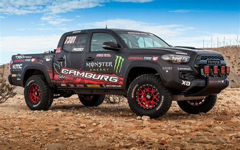 Toyota Tacoma Wallpaper Toyota Tacoma Trd Pro Race Truck 2016 Wallpapers And Hd
