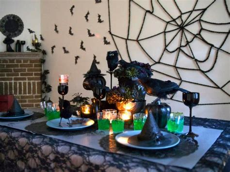 diy spooky halloween centerpiece diy