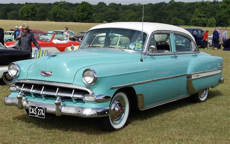 bel air pin chevrolet 1954 bel air 4 door sedan flickr photo