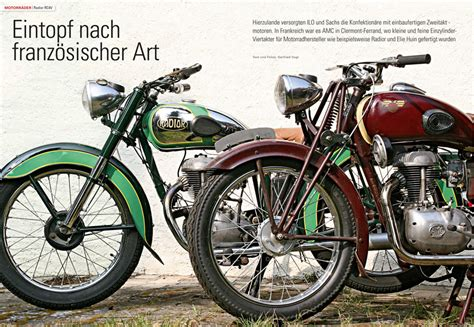 Motorrad Classic Magazin by Klassik Motorrad 6 2015 Motorrad Magazin Mo