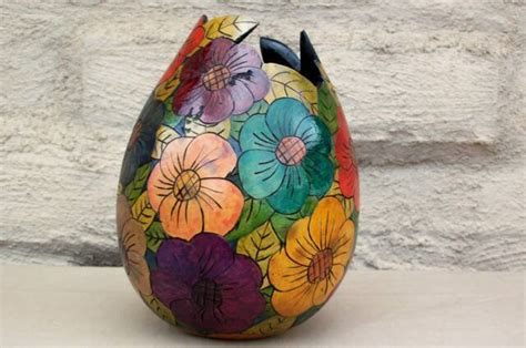Handcraft Designs - best glass big flower vase