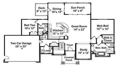 cottage open floor plan open concept floor plans open floor plan design ideas