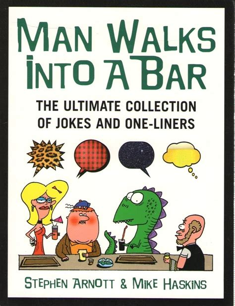 Kitchen Jokes One Liners Walks Into A Bar Buy Walks Into A Bar
