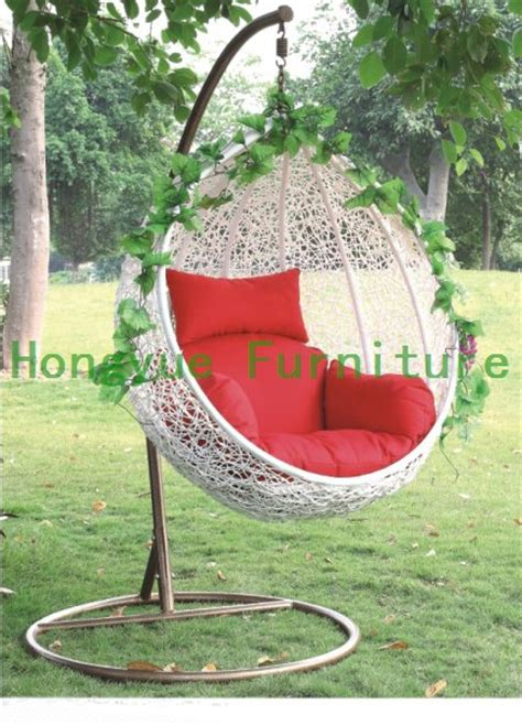 Egg Hammock Chair egg shape white rattan hammock chair outdoor furniture in hammocks from furniture on aliexpress