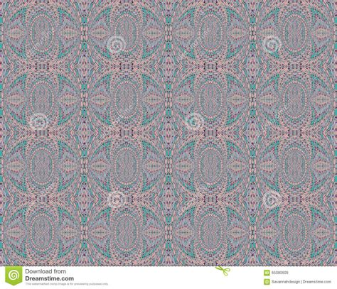 seamless pattern pale gray turquoise curls seamless pattern pink gray turquoise stock illustration