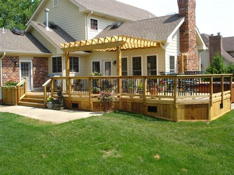 image of deck pergola designs deck patio pinterest