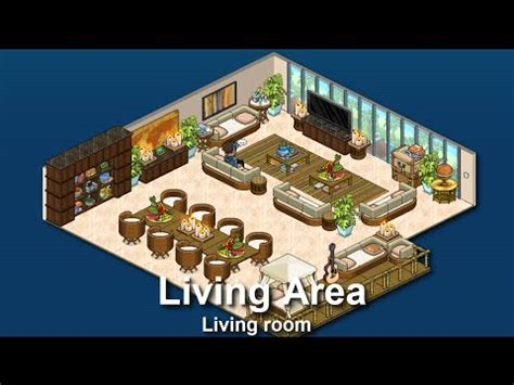 Best Interior Design Apps how to build a habbo living area sitting room youtube