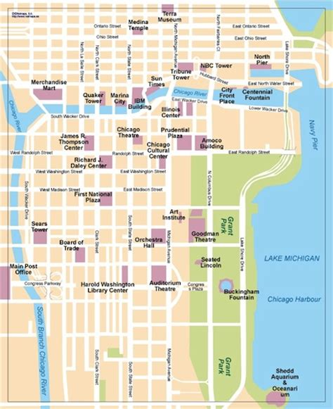 chicago map vector chicago map