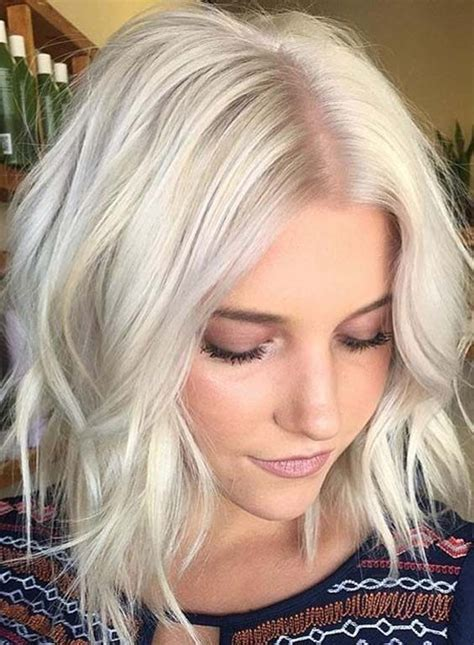 platinum blonde bob hairstyles pictures inspiring short blonde hairstyles 2018 hairstylesco