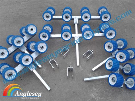 boat trailer stern roller boat trailer rollers roller bunk to roller conversion kit