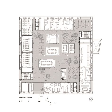 h and h homes floor plans gallery of research center icta icp 183 uab h arquitectes