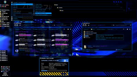 desktop themes exe sulaco visual style win 7 theme nostro fr
