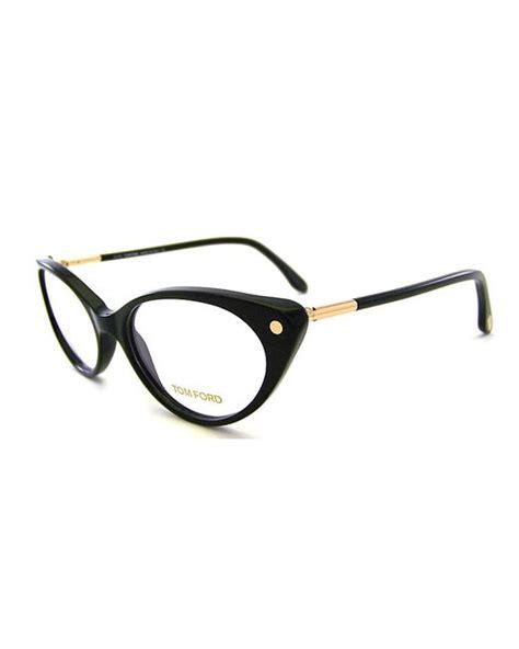 lyst tom ford plastic optical tom ford cat eye plastic eyeglasses in black save 37 lyst