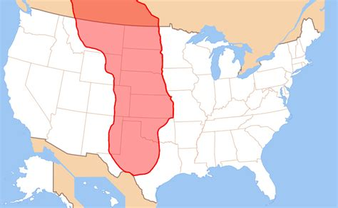 us map with great plains new noaa study suggests great plains may not suffer semi
