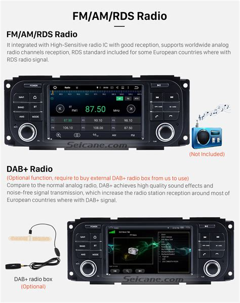 jeep wrangler touch screen radio android 6 0 hd touchscreen radio for 2003 2006 jeep