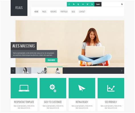 40 free and premium business wordpress themes xdesigns