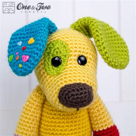 amigurumi pattern dog free scrappy the happy puppy amigurumi crochet pattern