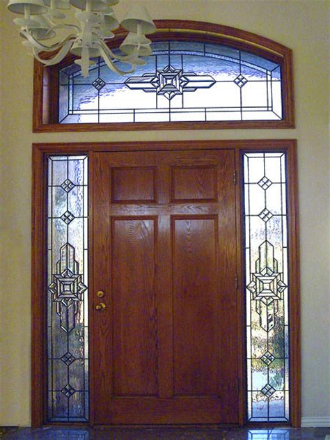 Wright Door by Prairie Stained Glass Scottish Stained Glass