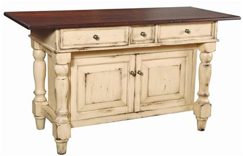 amish serenity kitchen cabinet island
