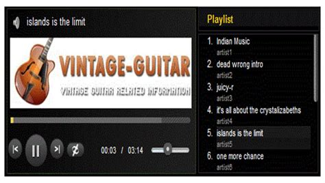 html5 player template top 20 audio player plugins