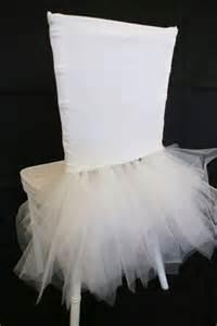 habillage de chaise pour mariage mariage d 233 co de la
